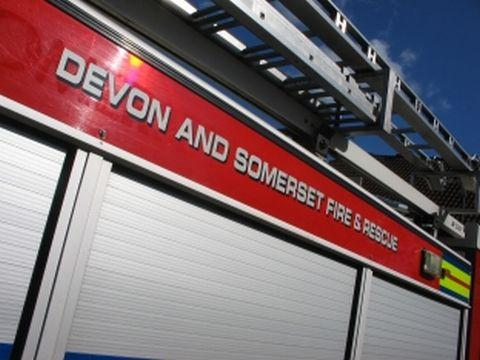 Group of men trapped in lift, Exeter