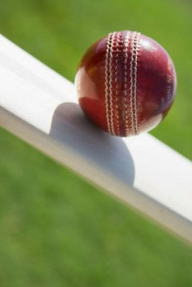 CRICKET: Newall hits century on home-made track