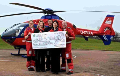 Devon Air Ambulance receives cash injection