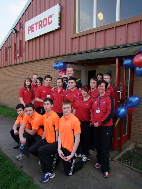 Petroc opens new fitness centre