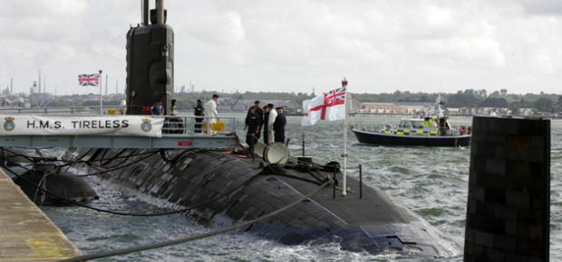 HMS Tireless home for final time