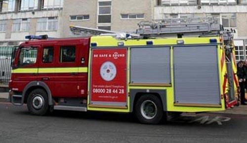 Fire crews tackle electrical fire in Exeter home