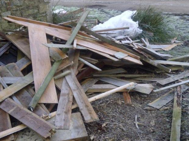 Mid Devon Star: Fly tipping is one of many environmental crimes the co