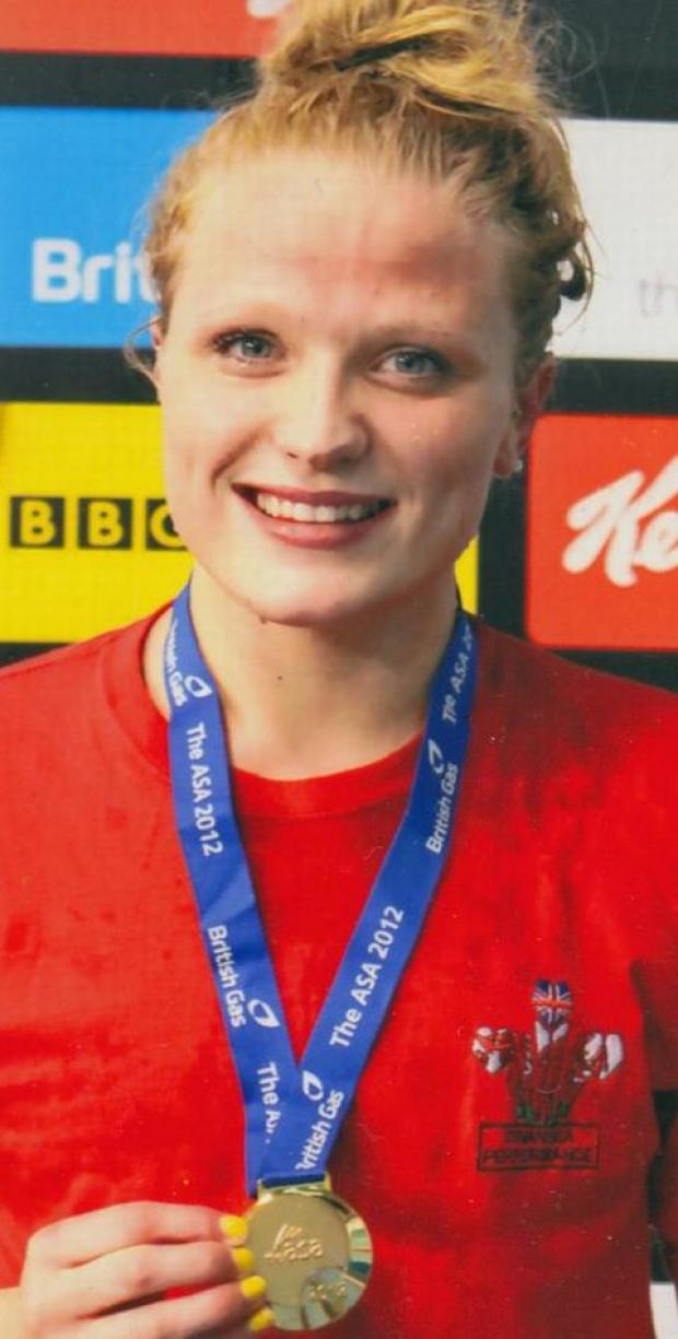 SWIMMING: Gold for Libby at national youth championships