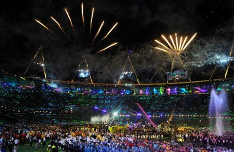 Mid Devon Star: The games closed with a spectacular ceremony