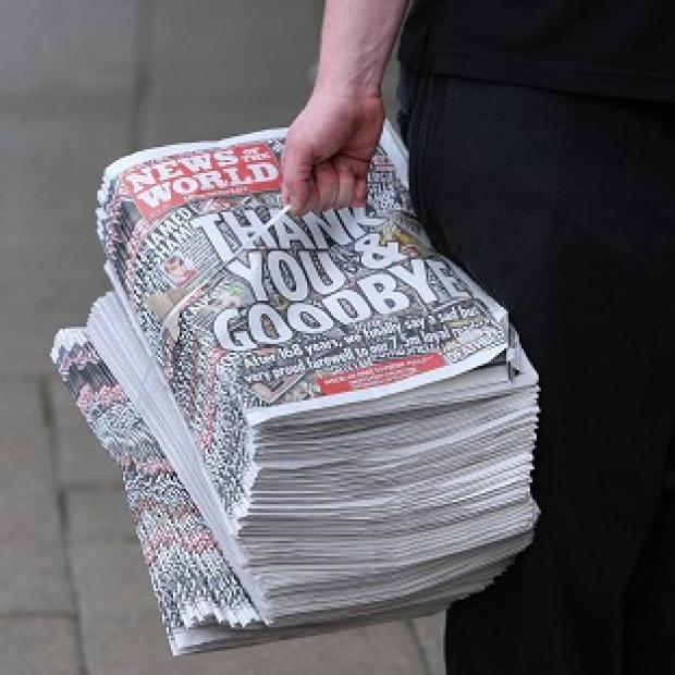 DCI April Casburn faces an accusation that she offered to give the now defunct tabloid the News of the World information