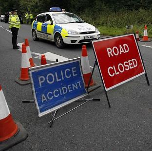 A crash in which a 32-year-old pharmacist from Northampton died was caused by tyre vandalism, said police