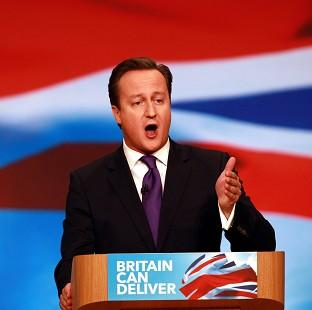 David Cameron told the Conservative Party conference he would campaign against Scottish independence 'with everything we've got'