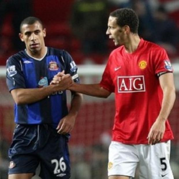 Mid Devon Star: Anton Ferdinand, left, and Rio Ferdinand said they want to work with the Kick it Out campaign