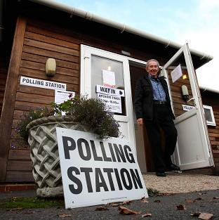Voter turnout for the police and crime commissioner elections was just over 10 per cent at Devizes, Wiltshire