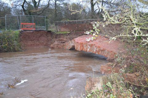 Bridge collapse Bradninch