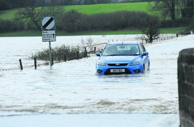 Risk of further flooding as more heavy rain is on the way