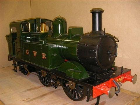 Stolen custom built model steam locomotive police appeal
