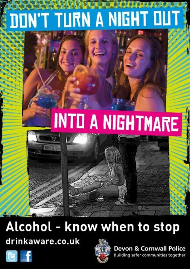 Police have launched a campaign to keep party-goers safe this festive season