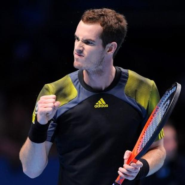 Andy Murray, pictured, had a few scares en route to his straight sets win over Denis Istomin