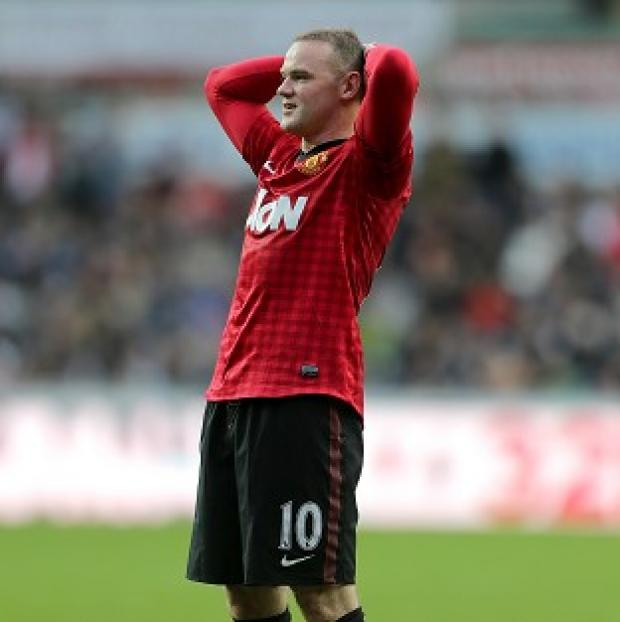 Mid Devon Star: Wayne Rooney is set for an extended spell on the sidelines