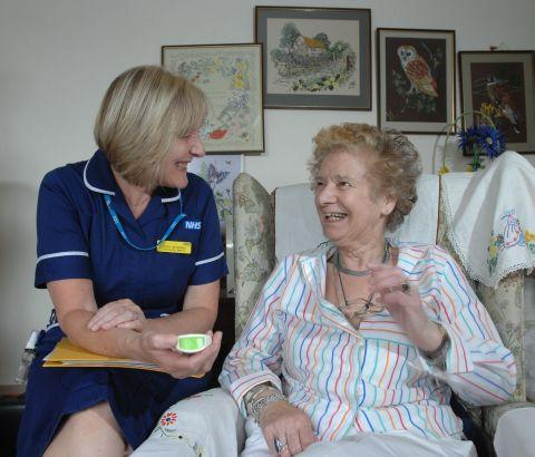 A drive has been launched to recruit new community nurses across many parts of Devon