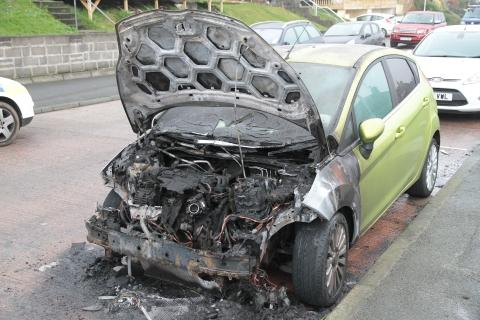 Arson attack on disabled Devon woman's car
