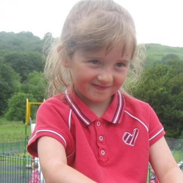 April Jones went missing on October 1 (Dyfed-Powys Police/PA)