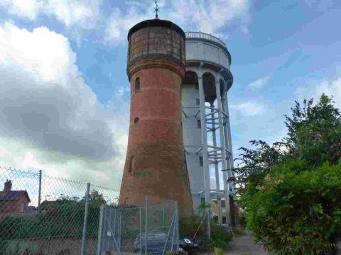 Mid Devon Star: The grade II listed Rockwell Green water towers, which are a landmark, will be auctioned off in February