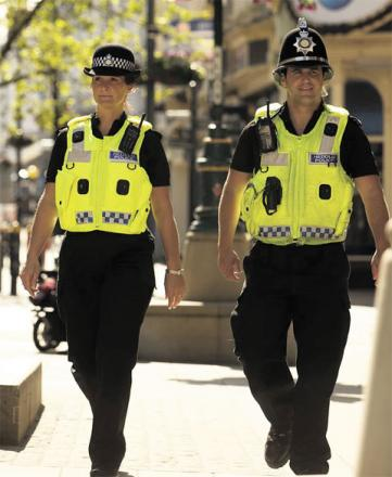 A total of 166 officers lost their jobs with the force between September 2011 and September 2012