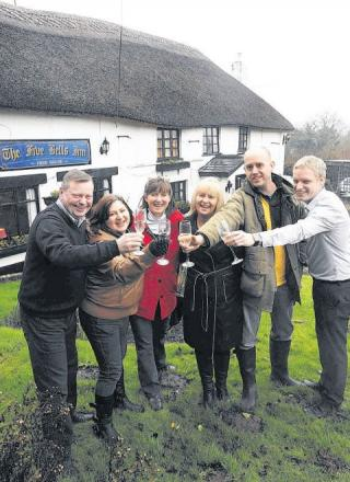 Campaigners delighted after new owners step up to save village pub
