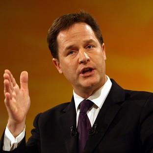 Nick Clegg said 'I hope I have given a full, frank, honest account'