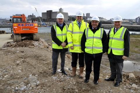 Work starts on 171-berth Plymouth marina