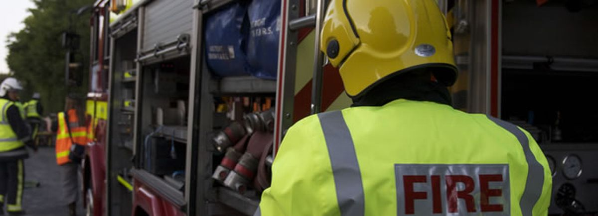 Three treated for smoke after East Allington bed fire
