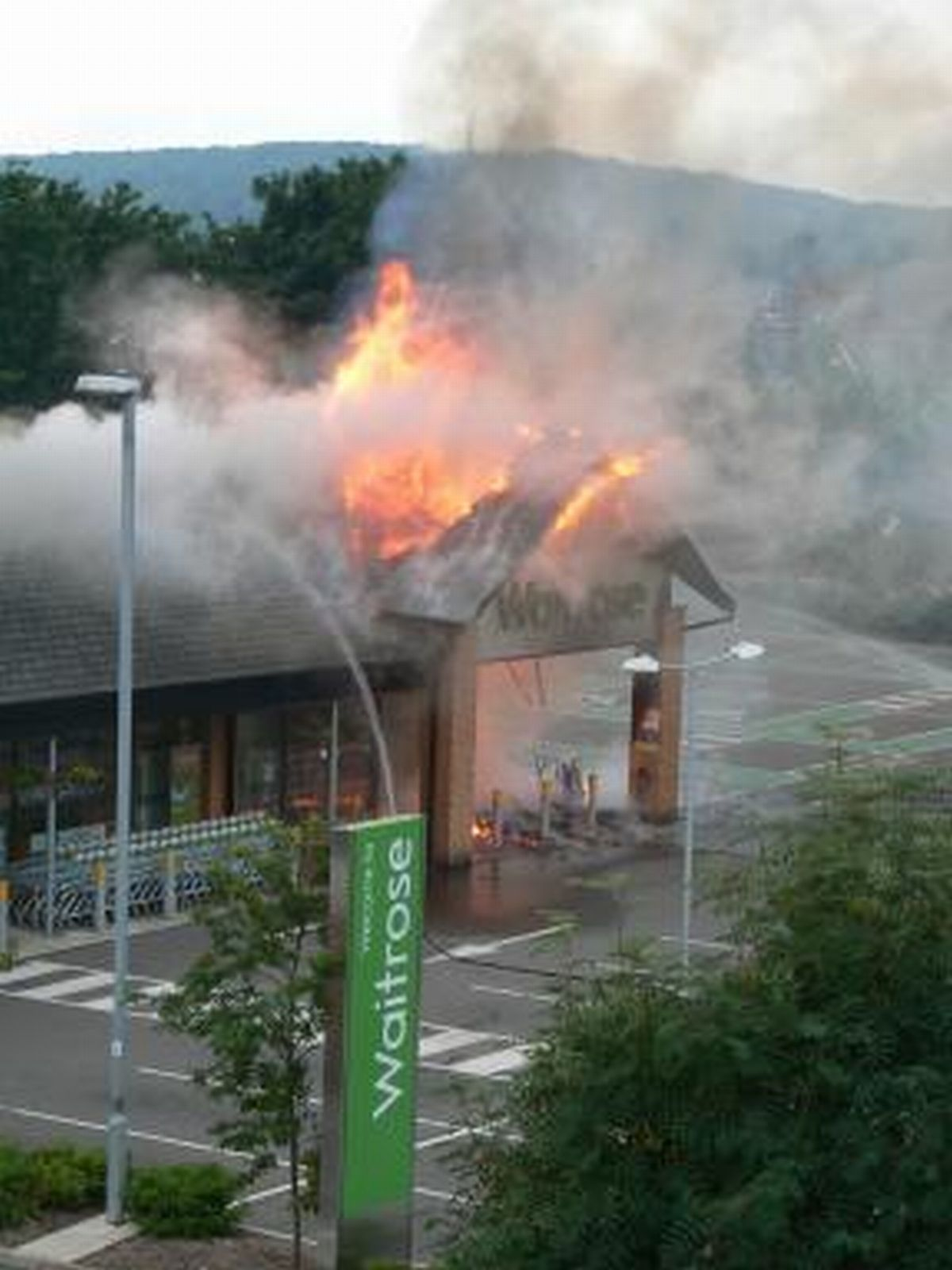 Wellington Waitrose to re-open after major fire