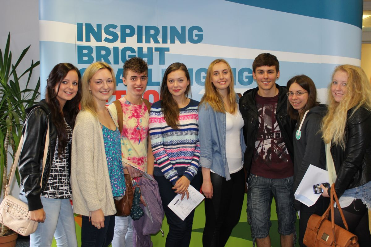 Mid Devon students get their A Level results