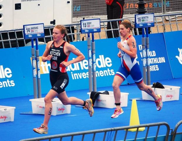 GB Triathlete gets support from home city Exeter