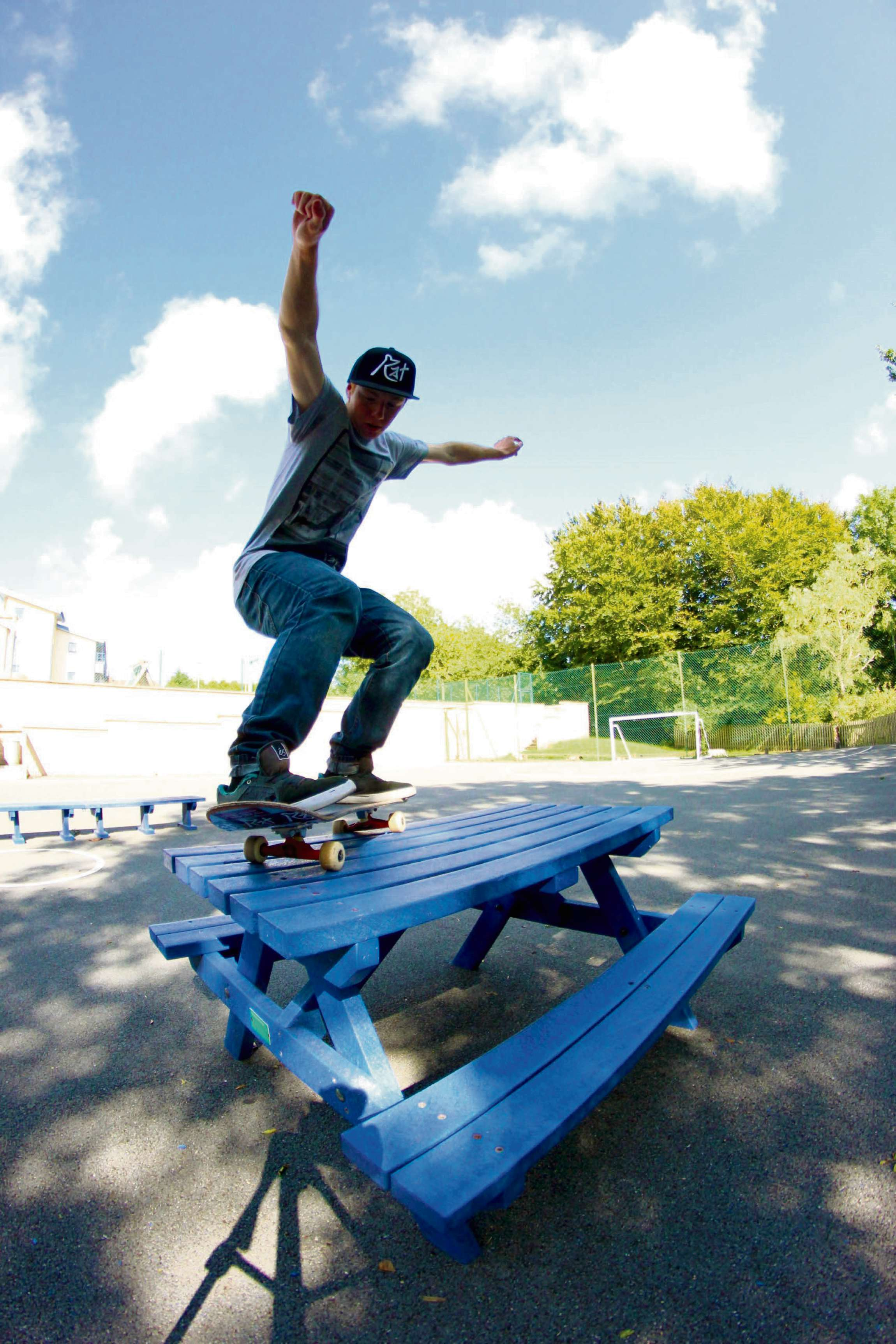 Youngsters choose new skate park design