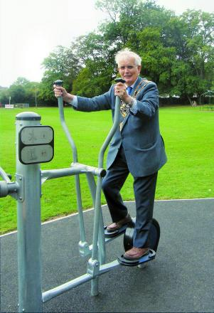 Community gets outdoor gym in Budleigh Salterton