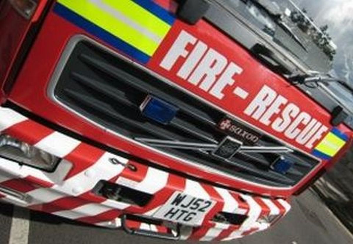 Fire service called to car blaze on M5