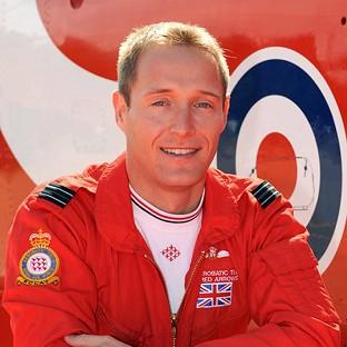Flight Lieutenant Sean Cunningham, 35, who was killed after being ejected from his Hawk T1 while