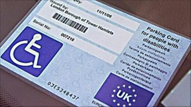 Blue badge scam warning