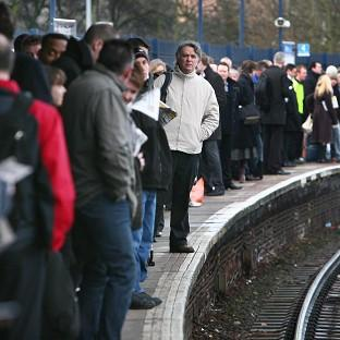 Many passengers suffered delays on the trains during the festive period