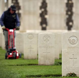 The Tyne Cot Cemetery and Memorial in Ypres, Belgium, as the Commonwealth War Graves Commission prepares for the centenary of