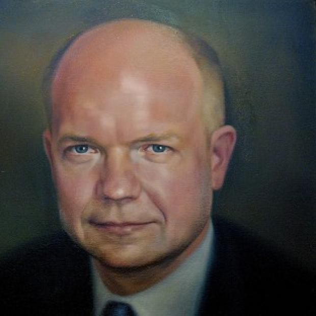 Mid Devon Star: William Hague's portrait cost �4,000 to commission