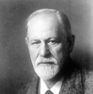 Sigmund Freud, the originator of psychoanalysis.