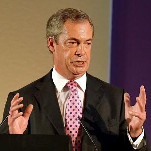 Ukip leader Nigel Farage has received a boost from new opinion poll figures