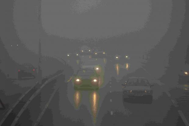 Fog, flooding and rain warning for Devon