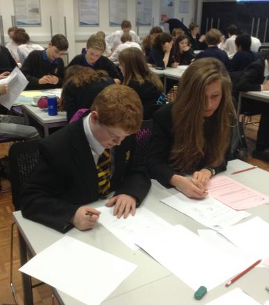 Sum achievement as Crediton students triumph at maths challenge