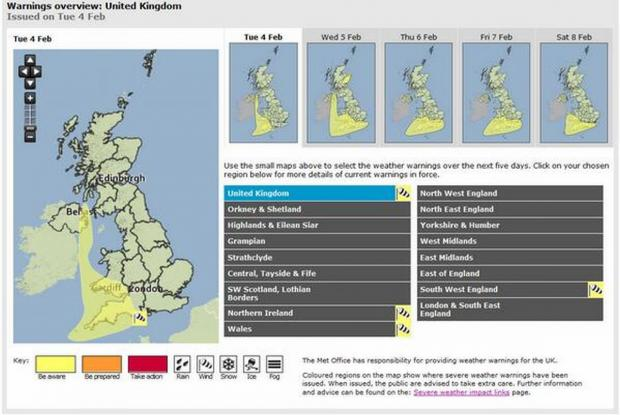 Five days of weather warnings as Devon faces onslaught of rain and gales