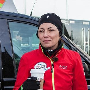 Mid Devon Star: Davina McCall has battled wind and rain in a series of arduous back-to-back feats of endurance for the BT Sport Relief Challenge: Davina - Beyond Breaking Point (Sport Relief/PA)