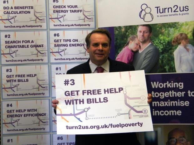 MP Parish backs fuel poverty campaign