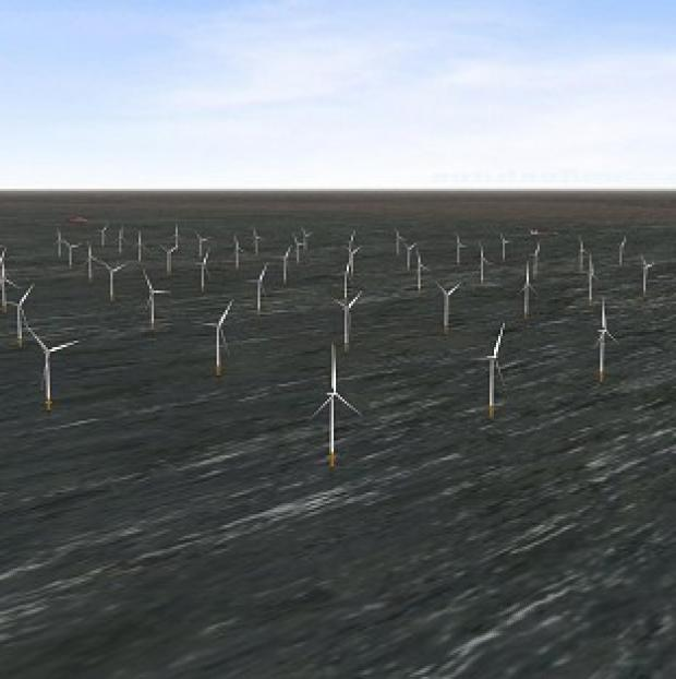 Mid Devon Star: London Array's wind farm is the biggest of its kind in the world (PA/London Array)