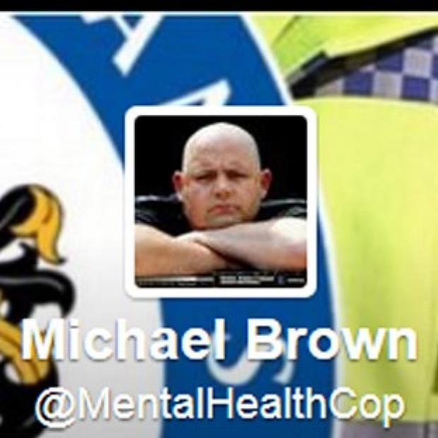 Mid Devon Star: Twitter feed of Michael Brown @MentalHealthCop has been reinstated after an internal inquiry by his force.