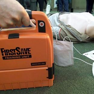 Research suggests a shortage of defibrillators and a lack of publi